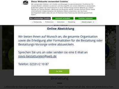 Novis Bestattungen GmbH Bestattungen