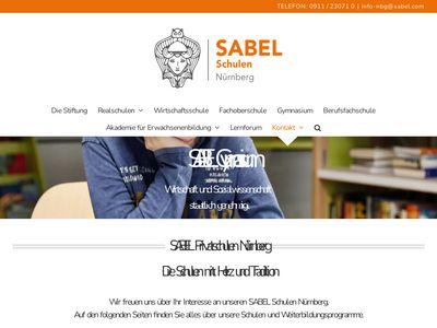 Sabel Realschule Nürnberg