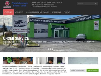 Nutzfahrzeuge Hübner GmbH Verk