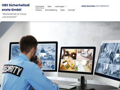OBS Sicherheitsdienste GmbH