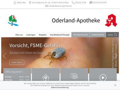 Oderland-Apotheke