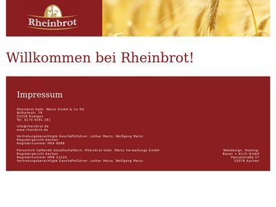 Bäckerei Oebel