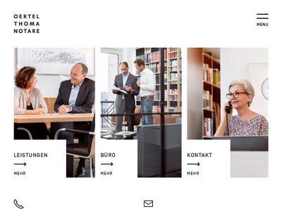 Notare Schüller Dr. und Oertel Dr.