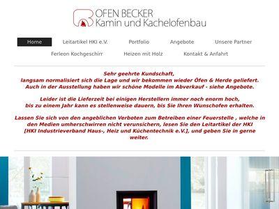 Ofen-Becker Kamin- und Kachelofenbau