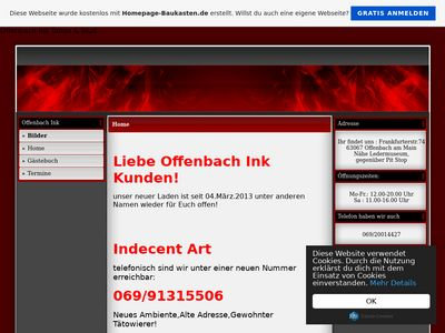 Offenbach Ink - Tattoos & Stuff