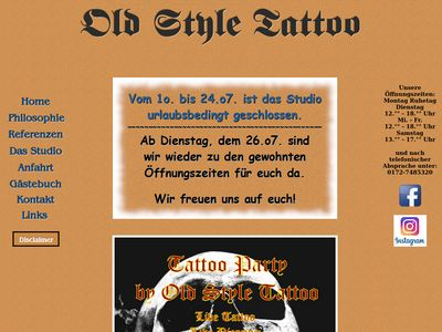 Old Style Tattoo