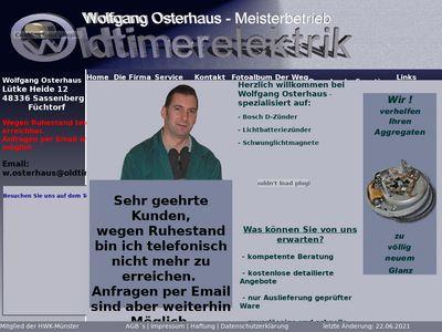 Oldtimerelektrik Osterhaus