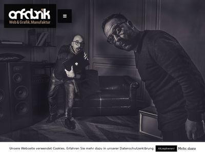 Onfabrik.de Webdesign und SEO