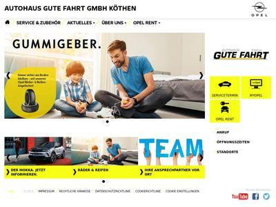 Autohaus Gute Fahrt GmbH Köthen