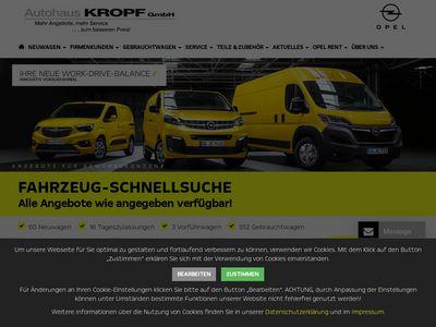 Autohaus Kropf - Filiale Erlangen