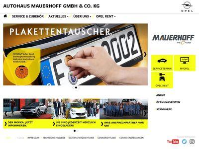 Autohaus Mauerhoff GmbH & Co. KG