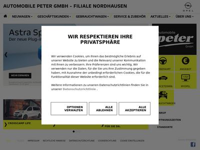Opel Automobile Peter Nordhausen