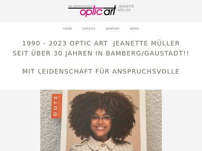 Optik art Jeanette Müller