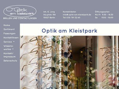 Optik am Kleistpark Gerhild Jung Optiker
