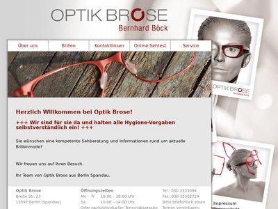 Brose Augenoptik Inh. Bernhard Böck