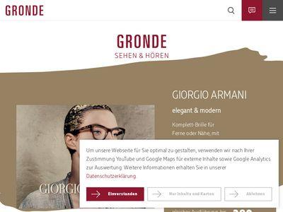 GRONDE sehen + hören GmbH