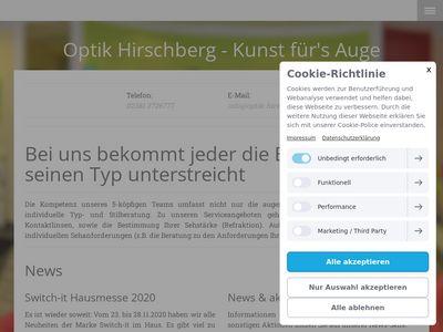 Optik Hirschberg - Kunst für's Auge