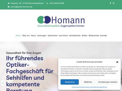 Homann Ihr Augenoptikermeister