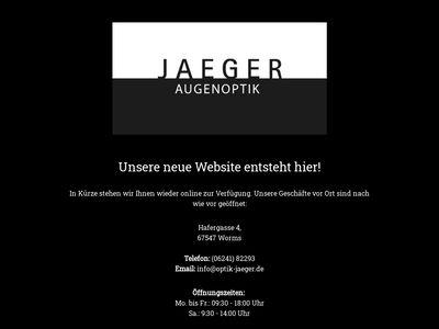 Augenoptik Helmut Jäger
