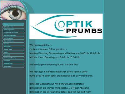Optik Prumbs