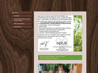 Optik Strobel Schweinfurt