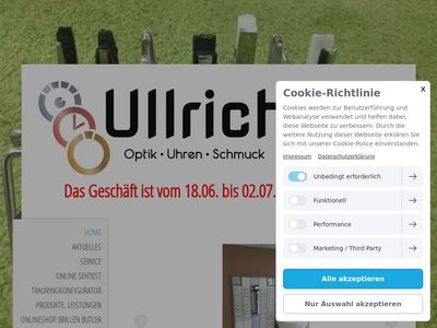 Optik•Uhren•Schmuck Ullrich