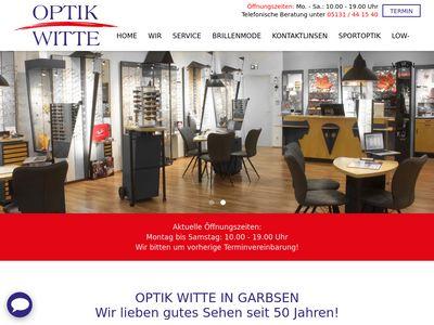 Optik Witte Augenoptik Shopping Plaza