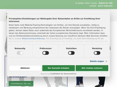 Augenoptiker Peter Tewes
