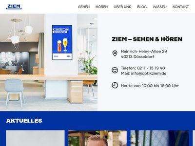 Optik Hörgeräte Ziem GmbH u. Co KG