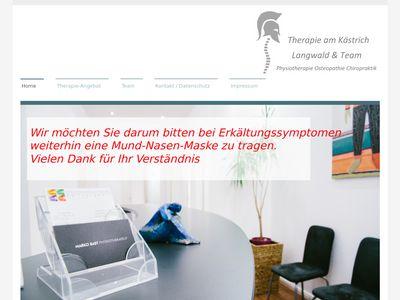Physiotherapie und Osteopathie Langwald