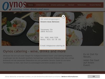 Oynos Catering, wine, drinks and more GmbH
