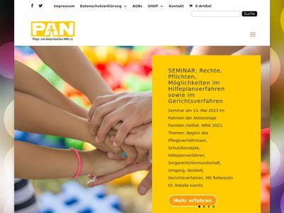 PAN Pflege- und Adoptivfamilien NRW
