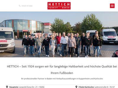 Hettich GmbH Parkett + Boden