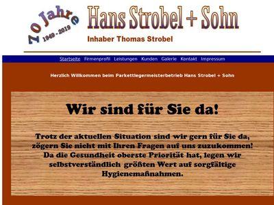 Strobel Hans & Sohn Parkettböden