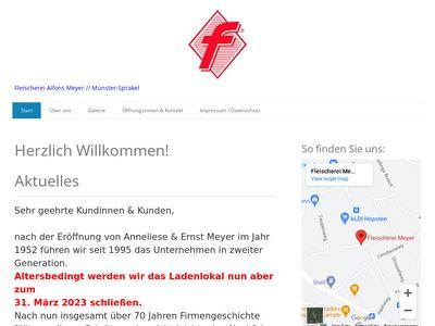 Fleischerei & Partyservice Alfons Meyer