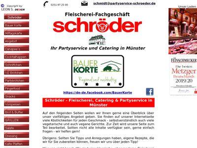 Fleischerei und Partyservice Schröder