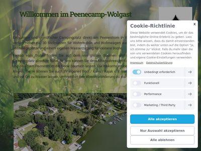 Peenecamp wolgast