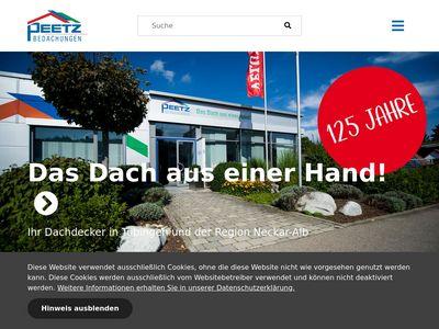 Peetz - Bedachungen GmbH