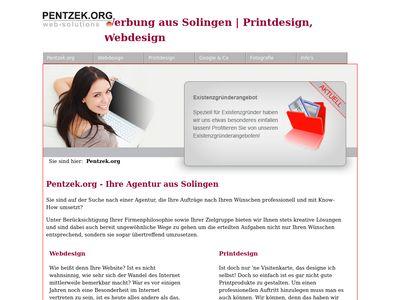 Webdesign Solingen Pentzek.org