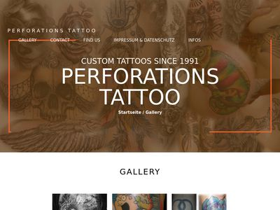 Perforations Tattoo