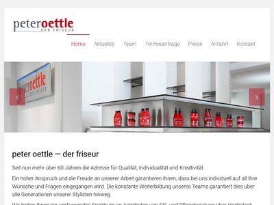 Peter Oettle - Der Friseur