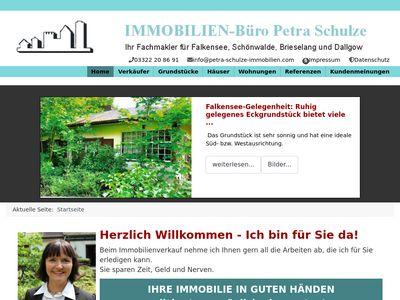 Immobilien - Büro Petra Schulze