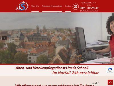 Ursula Schnell Alten- und Krankenpflegedienst