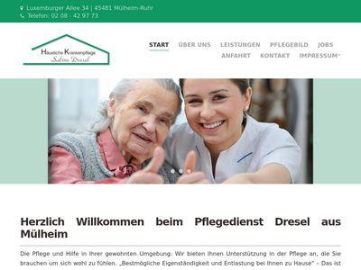 Häusliche Krankenpflege Sabine Dresel
