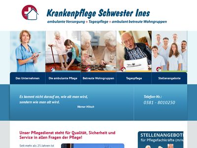 Krankenpflege Schwester Ines GmbH Zweigstelle