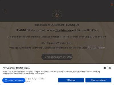 PHANNEE Thaimassage Düsseldorf
