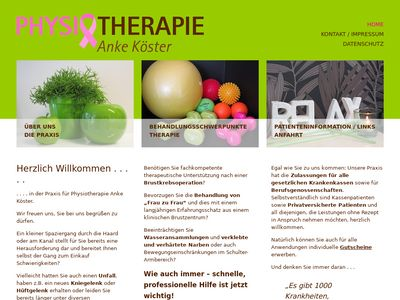 Physiotherapie Köster Anke