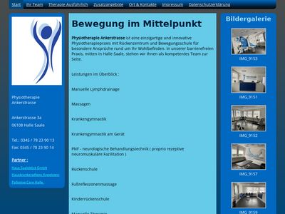 Physiotherapie Ankerstrasse