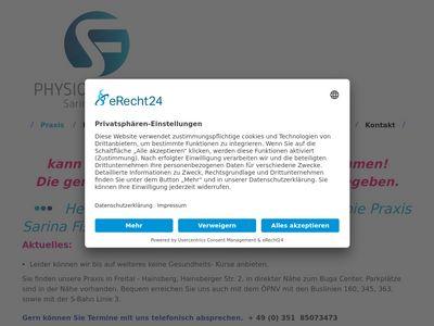 Physiotherapie Herbstsonne S. Fischer