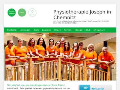 Physiotherapie Joseph in Chemnitz